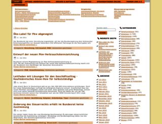 steuer-insel.de screenshot