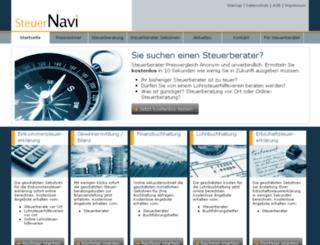 steuer-navi.info screenshot