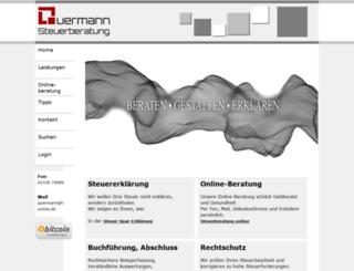 steuerberater-quermann.de screenshot