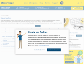 steuerlexikon-online.de screenshot