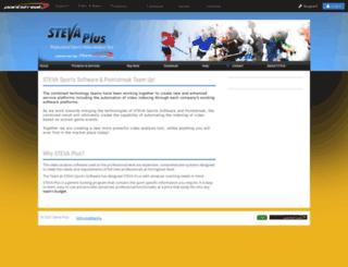 stevaplus.pointstreaksites.com screenshot