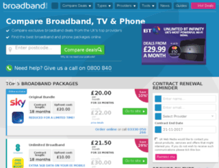 steve.broadband-finder.co.uk screenshot