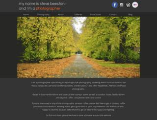 stevebeeston.co.uk screenshot