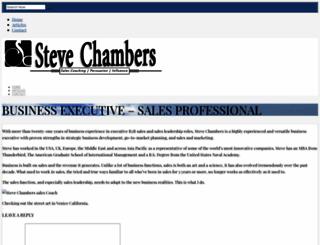 stevechambers.com screenshot