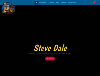 stevedalepetworld.com screenshot