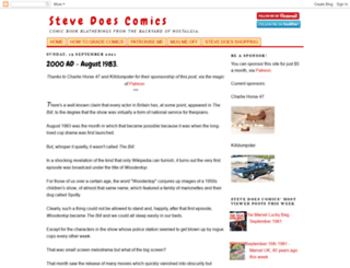stevedoescomics.blogspot.co.uk screenshot