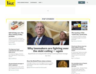 stevefaster.vox.com screenshot