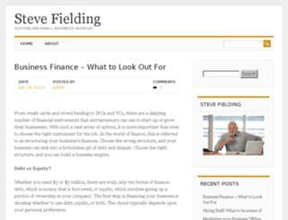 stevefielding.com.au screenshot