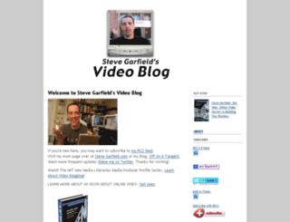 stevegarfield.blogs.com screenshot