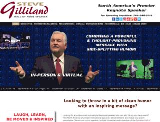 stevegilliland.com screenshot