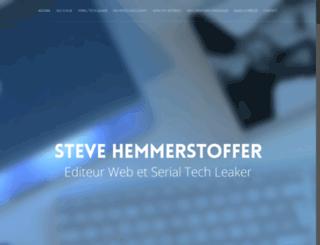 stevehemmerstoffer.com screenshot