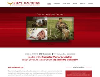 stevejennings.com screenshot