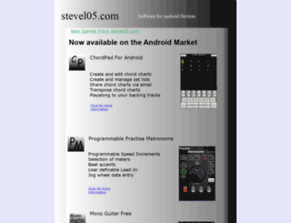 stevel05.com screenshot