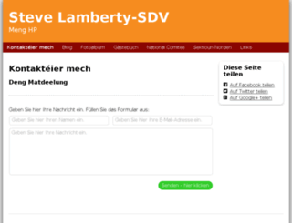stevelamberty-sdv.lu screenshot