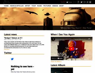 stevelukather.com screenshot