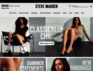 stevemadden.com screenshot