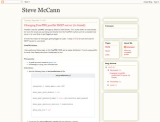 stevemccann.net screenshot