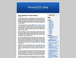 steven2223.wordpress.com screenshot