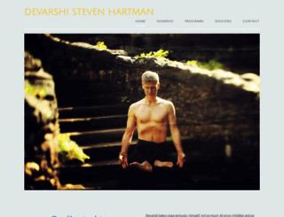 stevenhartman.com screenshot