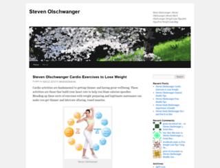 stevenolschwanger.wordpress.com screenshot