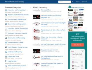 stevenspointbusinessdirectory.com screenshot