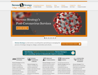 stevensstrategy.com screenshot