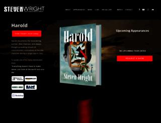 stevenwright.com screenshot