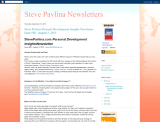 stevepavlinanewsletters.blogspot.com screenshot