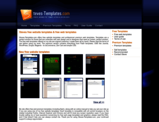steves-templates.com screenshot