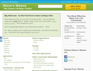 stevesweave.awmdemo.com screenshot