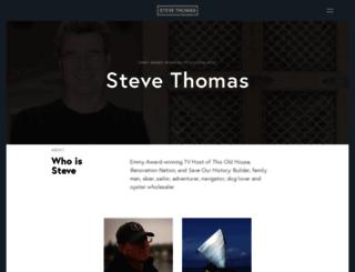 stevethomashome.com screenshot