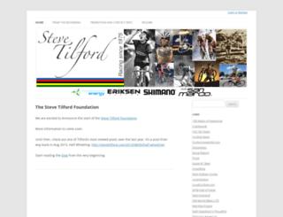 stevetilford.com screenshot