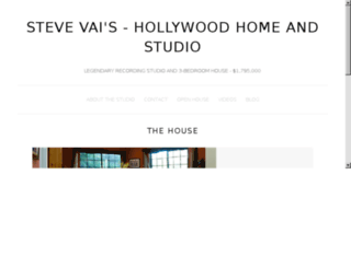 stevevaihome.com screenshot