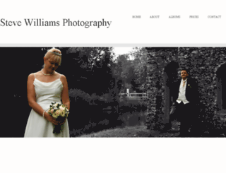 stevewilliamsphotography.com screenshot
