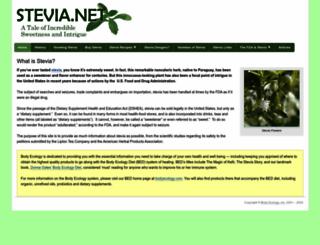 stevia.net screenshot