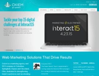 stevie.oxiem.com screenshot