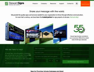 stewartsigns.com screenshot