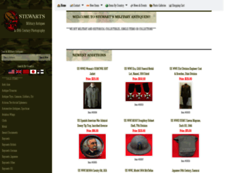 stewartsmilitaryantiques.com screenshot