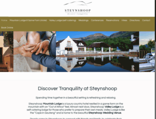steynshoop.co.za screenshot