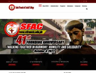 stfrancis.edu.ph screenshot