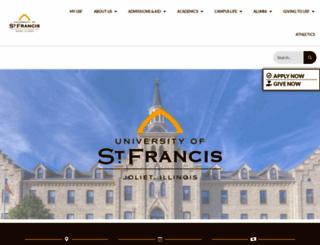 stfrancis.edu screenshot