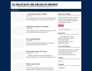 stfrancisdrmission2014.com screenshot
