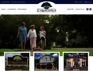 stfrancisville.net screenshot
