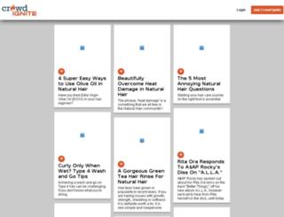 stg.crowdignite.com screenshot