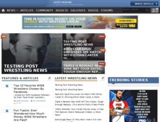 stg.ewrestlingnews.com screenshot