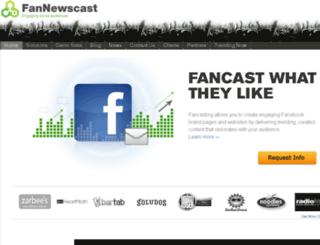 stg.fannewscast.com screenshot
