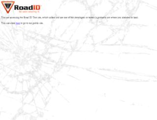 stg.roadid.com screenshot