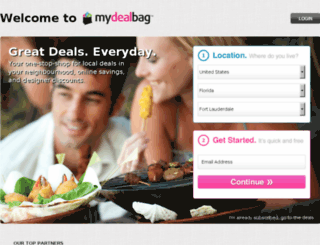 stg01.mydealbag.com screenshot