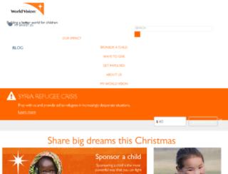stg1.worldvision.org screenshot