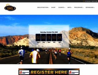 stgeorgemarathon.com screenshot